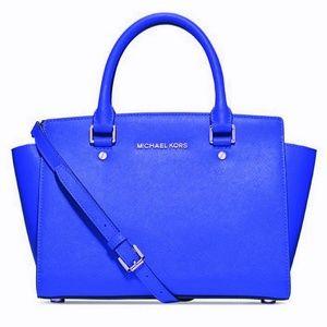 🆕️Michael Kors Selma medium satchel shoulder💙